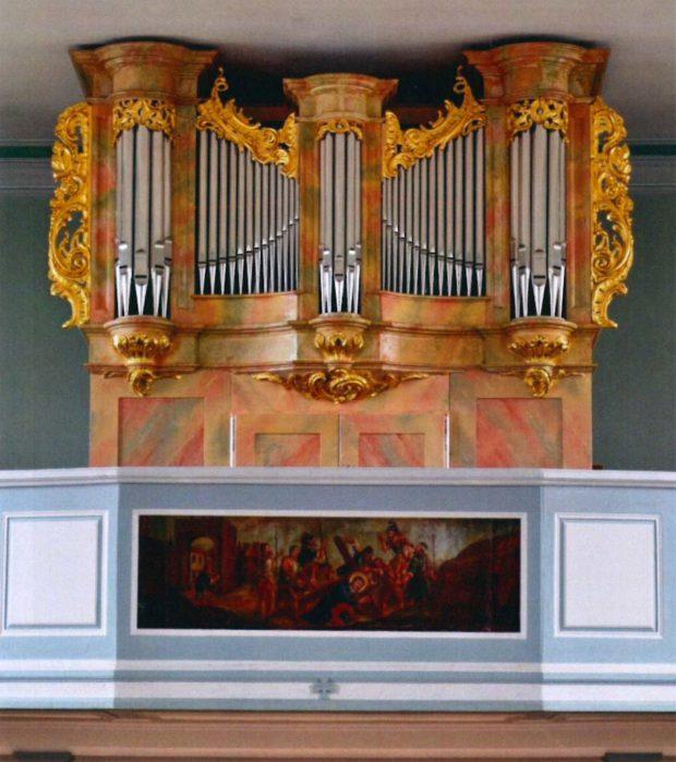 L'orgue après sa restauration de 1994